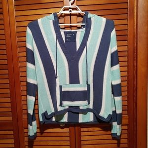 American Eagle Outfitters Knit Tunic Hoodie